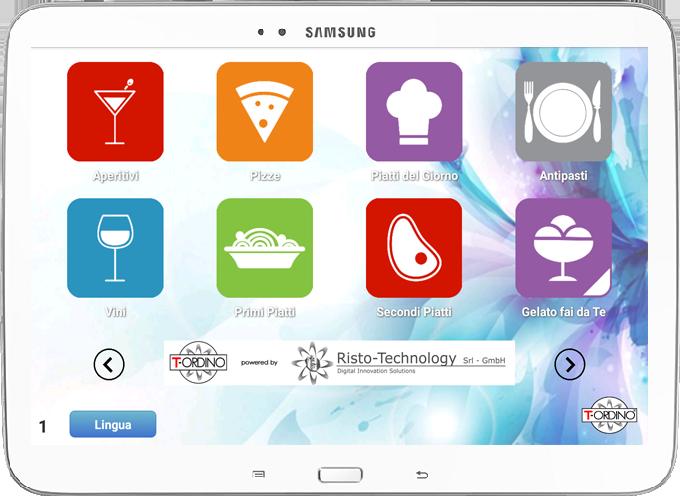 Sistema comande per Ristoranti e Pizzerie